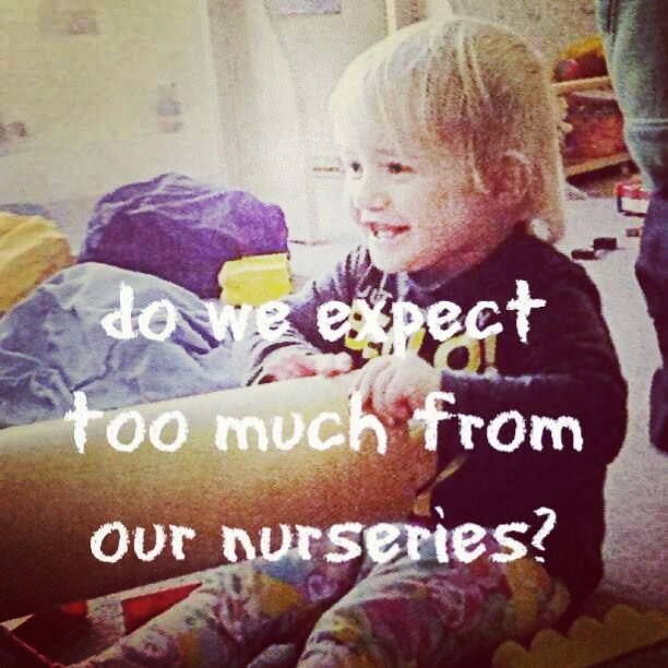 Do We Expect Too Much of Nurseries and Pre-Schools?