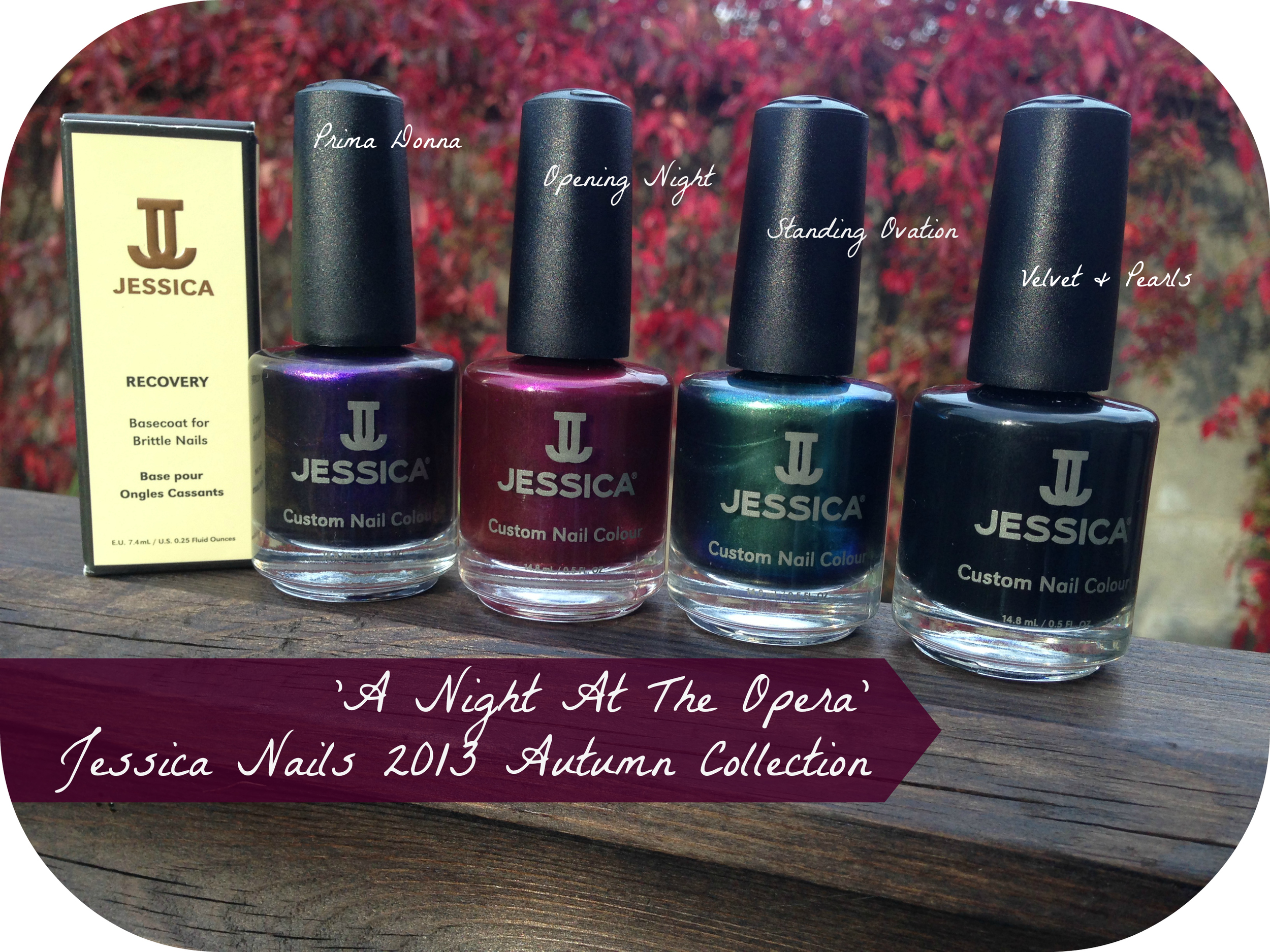 'A Night At The Opera' Jessica Nails Autumn 2013 Collection Review