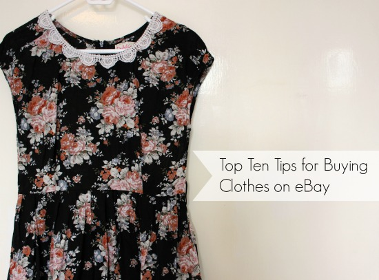 Top Ten Tips for Buying Clothes on eBay