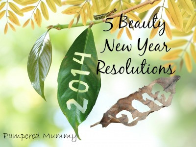 5 Beauty New Year's Resolutions