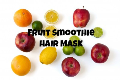 Fruit Smoothie Hair Mask #handmadebeauty