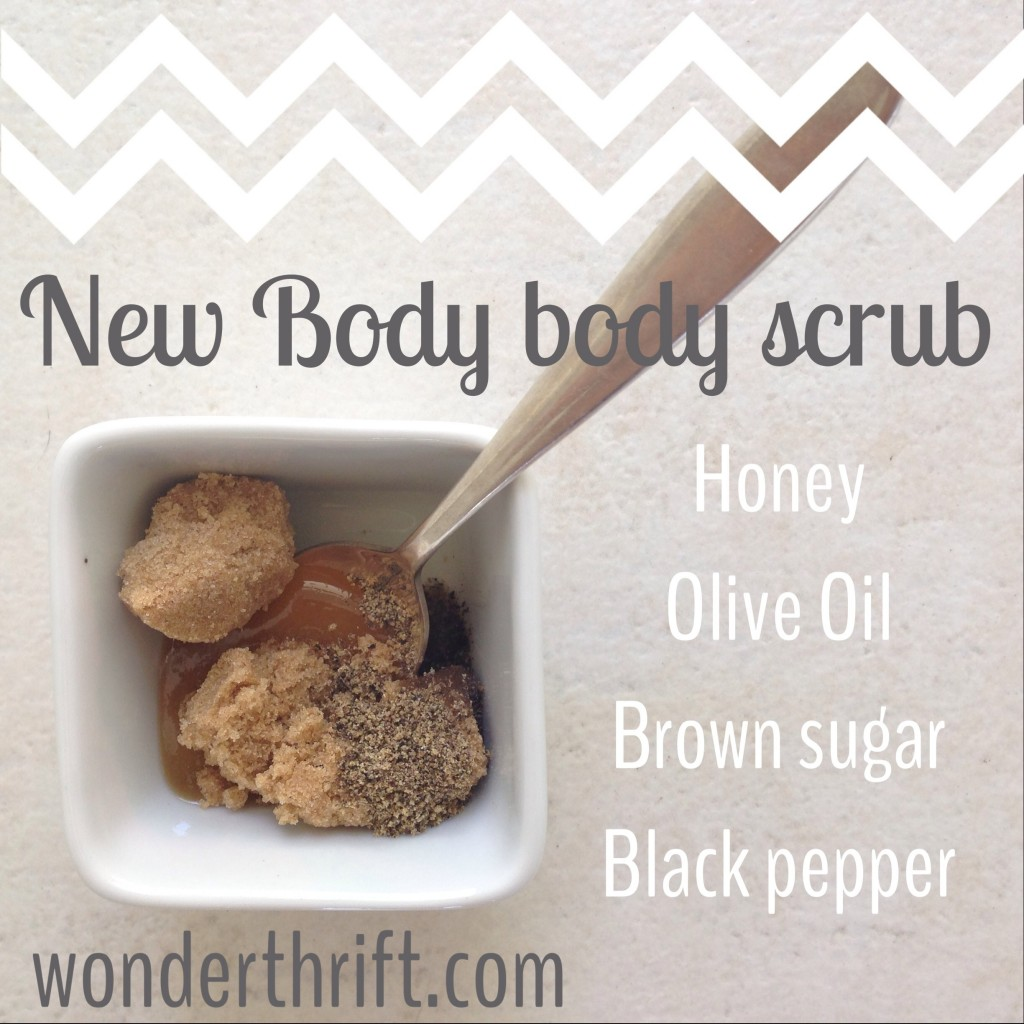 The DIY Body Scrub that will make you think you've got a new body