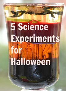 Science for kids - Spooky science experiments