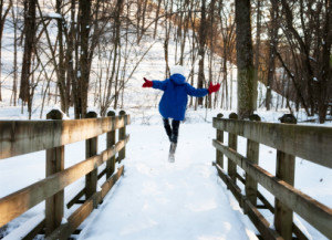 How much exercise do children need in winter?