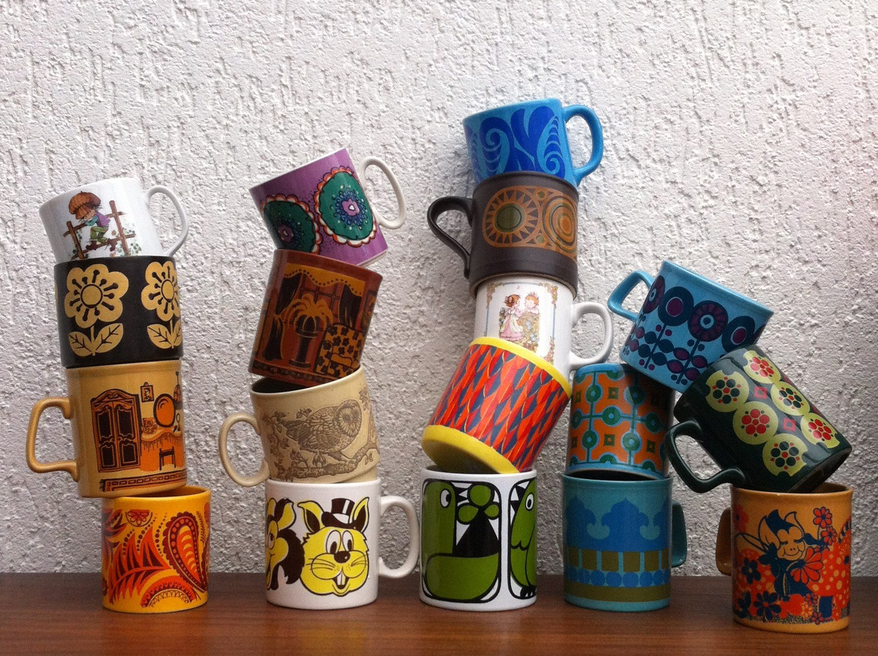 My collection of mugs