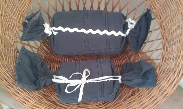 All wrapped up - in fabric! ~ Eco Thrifty Living