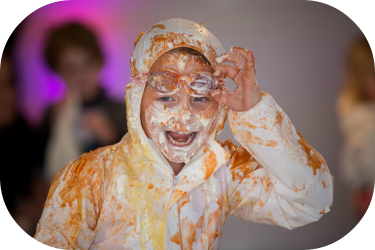 Food fight & cook with kids promise
