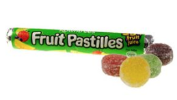 The bargaining power of a fruit pastille.