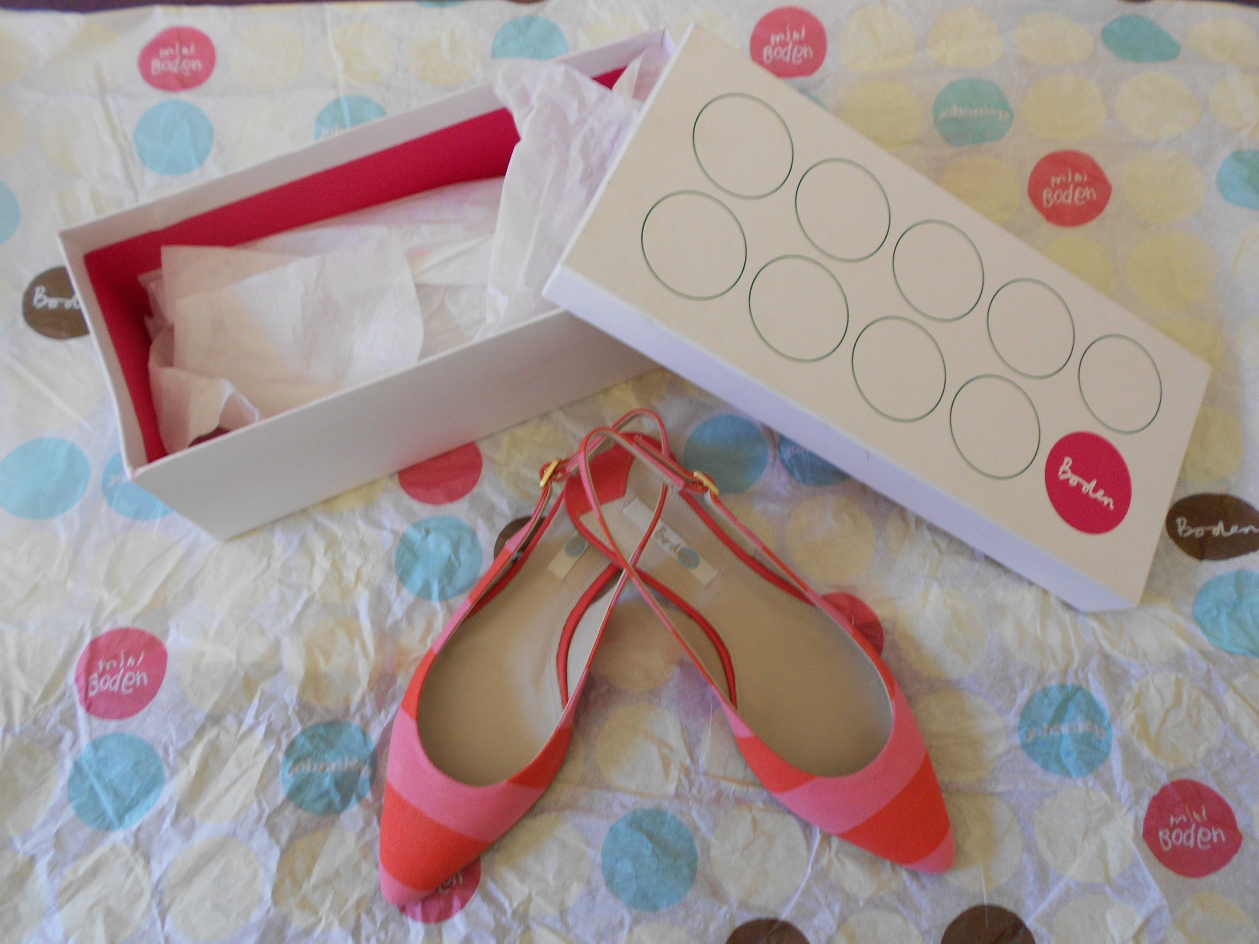 Hey Mr Postman! Boden Shoe Review