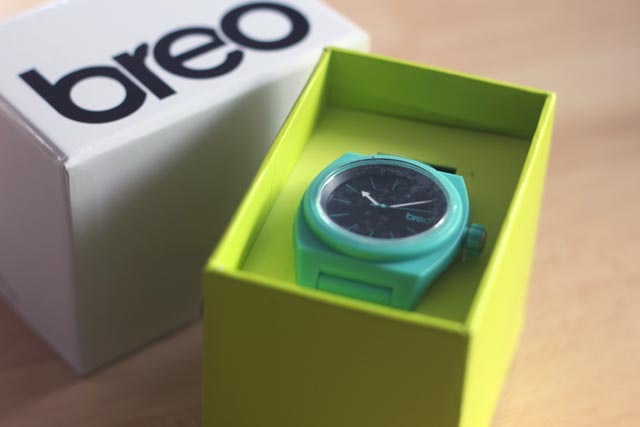 Breo Unisex Overtone Mint Watch Competition