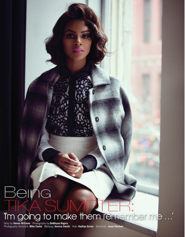 Style Crush: Tika Sumpter Covers 'Rolling Out'