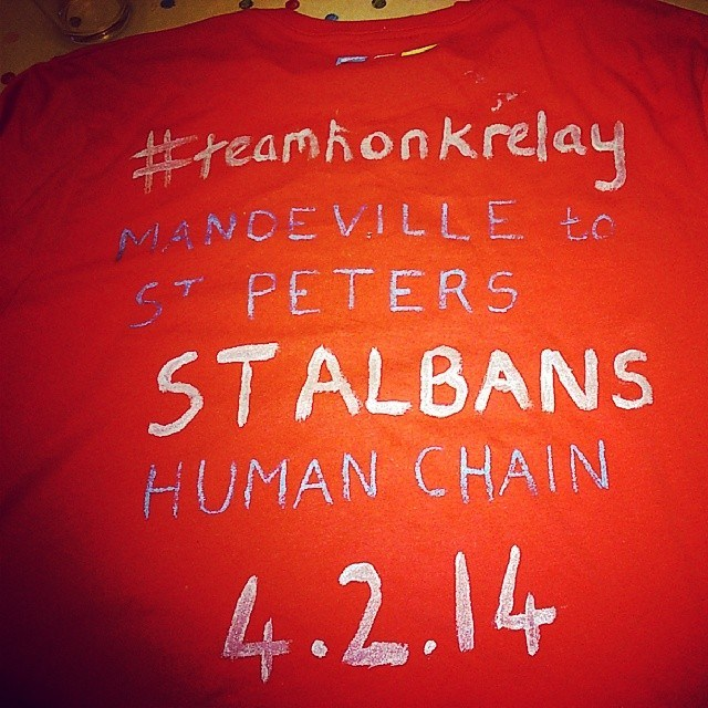The #teamhonkrelay Comes To St Albans