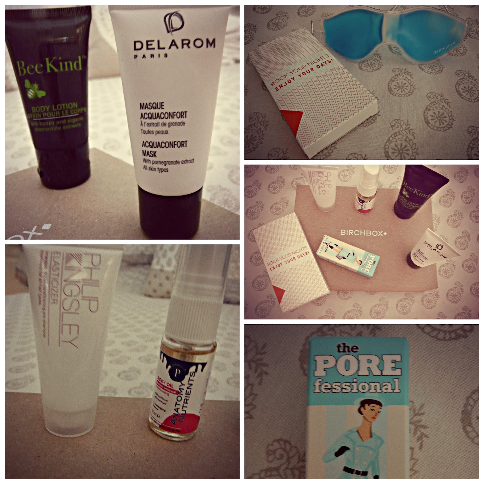 Birchbox...January 2014 Review