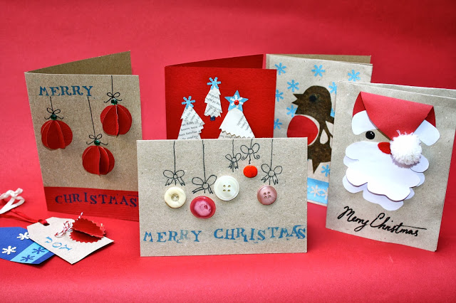 Handmade Christmas Cards - Part Two