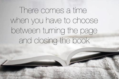 Helpful Steps:  Closing the book… by A Write Relief (for PND)