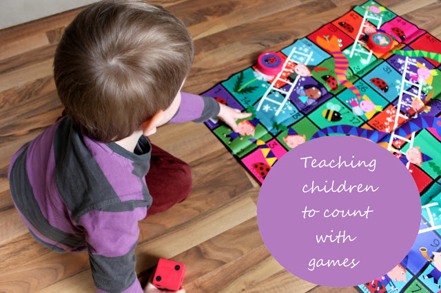 Teaching Kids To Count With Games