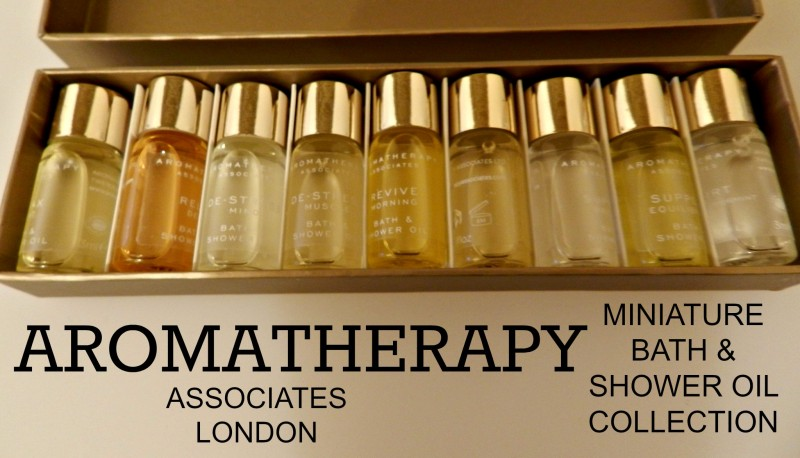 Review : Aromatherapy Miniature Bath & Shower Oil Collection