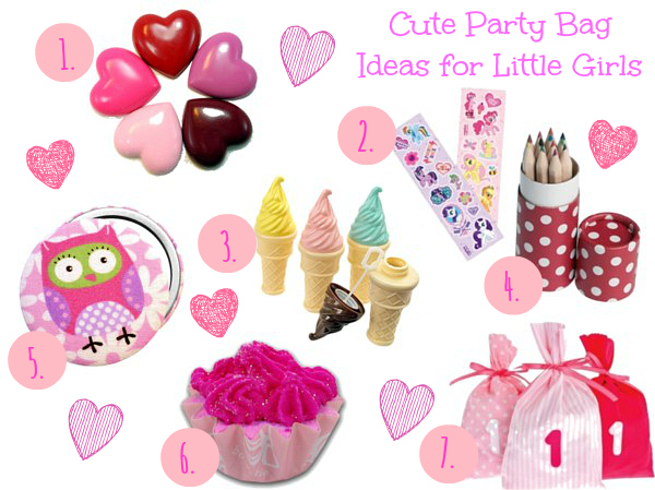 Cute Party Bag Ideas for Little Girls and Little Boys