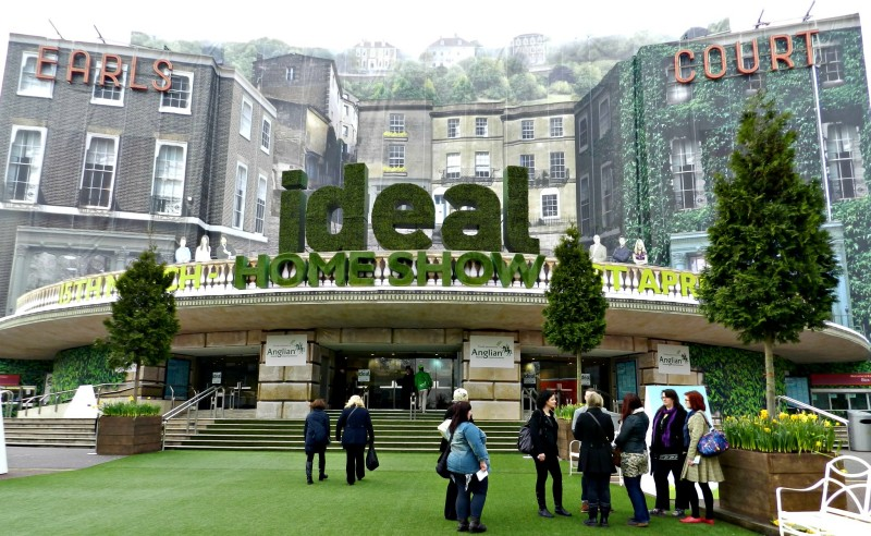 Ideal Home Show : A Guest of Hillarys