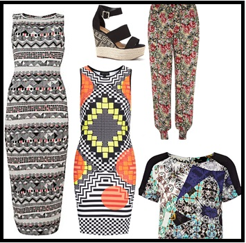 Affordable Guide to the Spring/Summer 2013 Trends – Graphic Prints