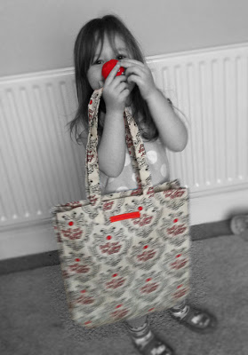 What's in my bag for Comic Relief