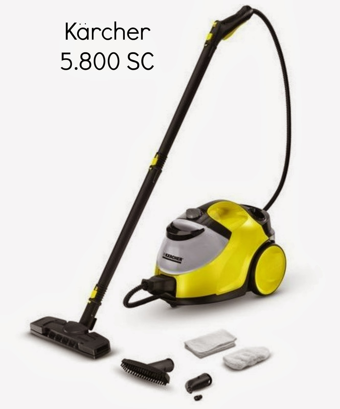 Karcher 5.800 Steam Cleaner review