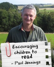 Paul Jennings - Top Tips for Encouraging Children to Read