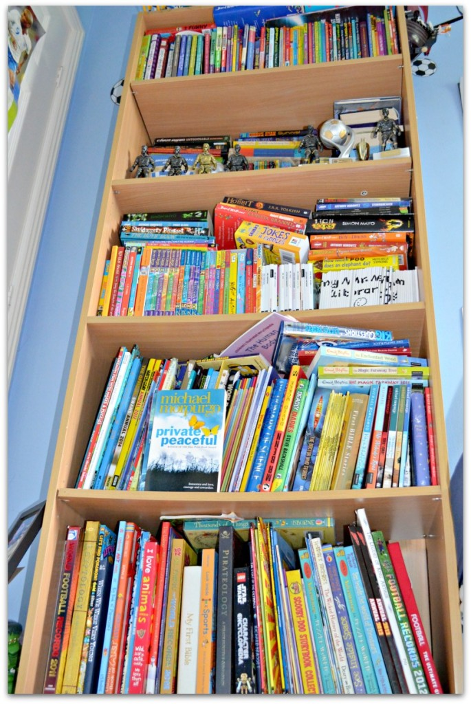 What do you do if you have too many books? - Stressy Mummy