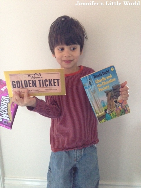 World Book Day and Charlie Bucket