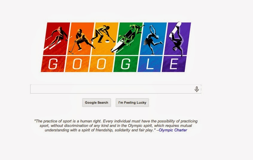 Olympic Google Doodle