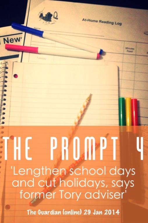 mumturnedmom: The Prompt 4: Longer School Hours