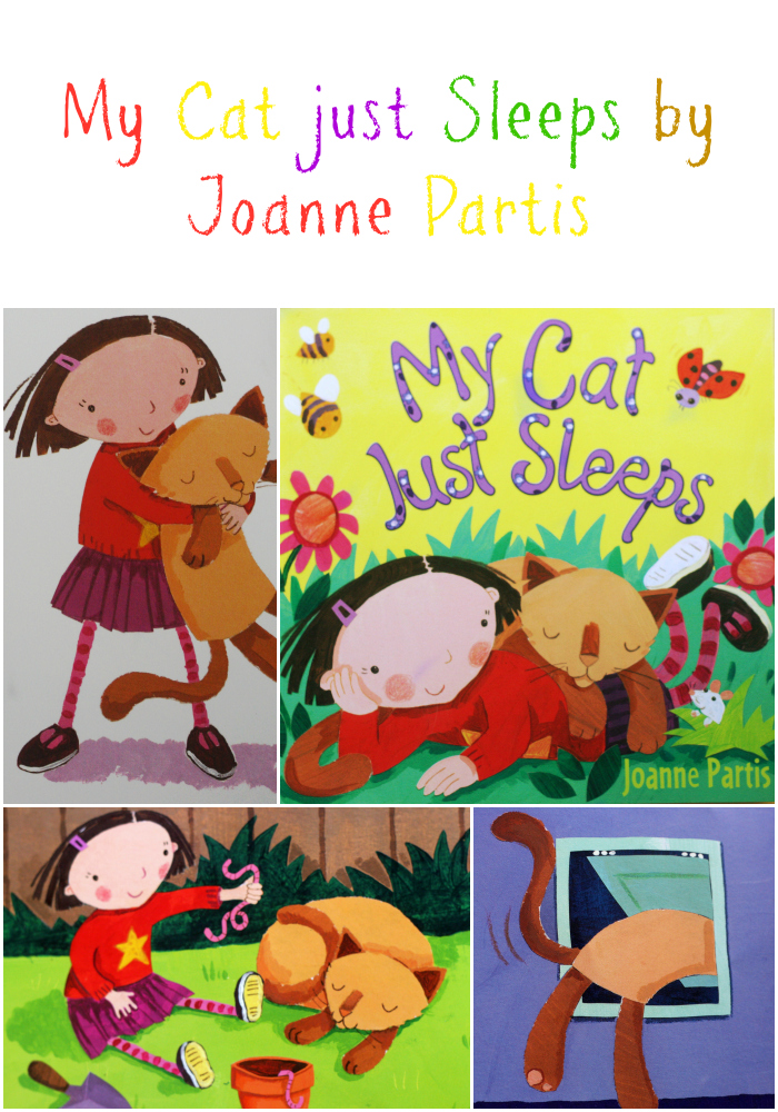 We like to read: My Cat Just Sleeps by Joanne Partis
