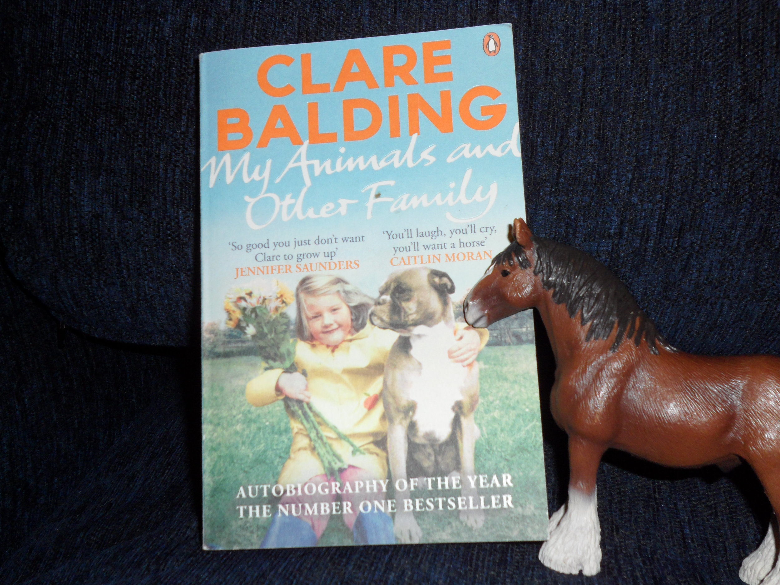 My Animals and Other Family by Clare Balding- Not Your Usual Review