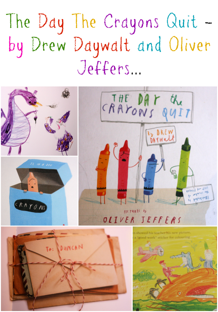 We like to read: The day the crayons quit Drew Daywalt