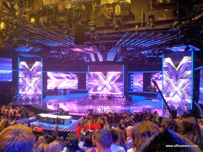 X Factor VIP for a day!