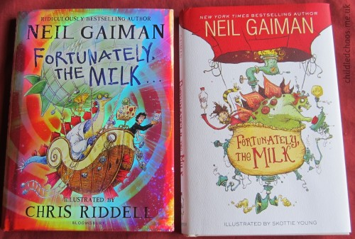 Fortunately, The Milk by Neil Gaiman, Chris Riddell, and Skottie Young