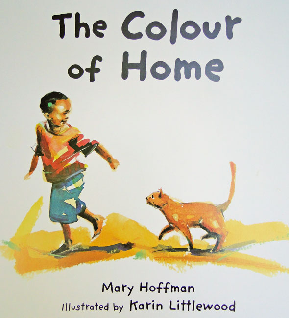The Colour of Home by British author Mary Hoffman - Over there to Here