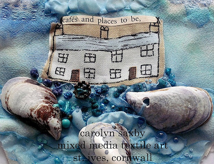 Textile Artist Interview: Carolyn Saxby