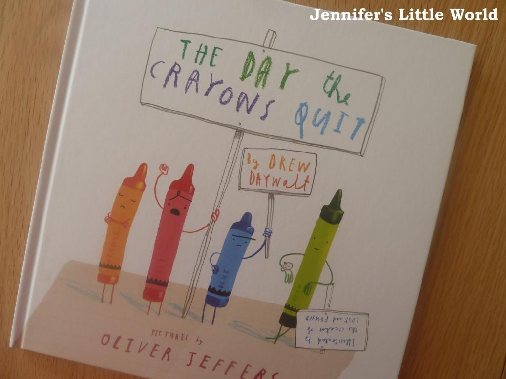 Book Review - The Day the Crayons Quit by Drew Daywalt and Oliver Jeffers