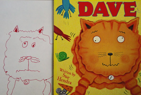 Dave the f***ing cat - Over there to Here