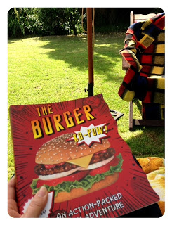 Cookbook Review - The Burger.  Upping My Mum Swag