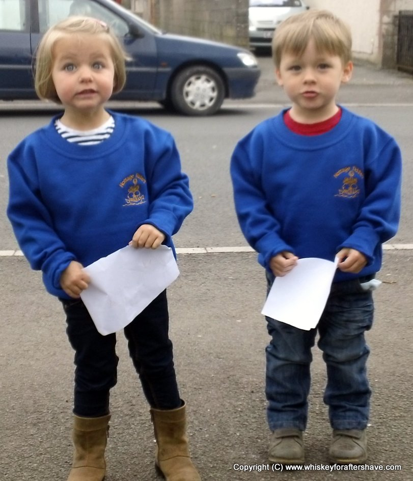 My children started pre-school on the day they buried Thatcher