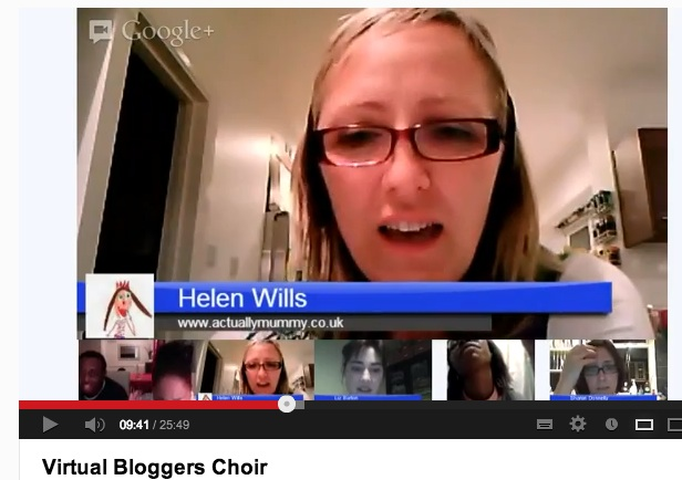 Live Google Plus rehearsals for the London Gospel Community Choir