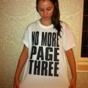 No More Page 3 – What You Can do…