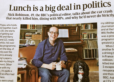 The BBC's Nick Robinson - and the perils of working from home