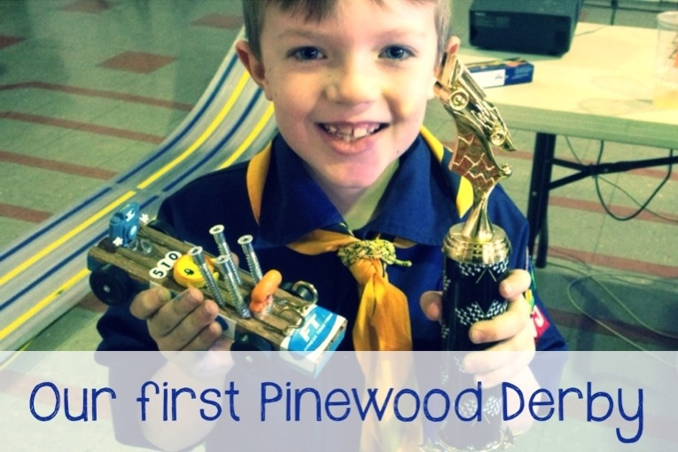 mumturnedmom: Expat: Our first Pinewood Derby