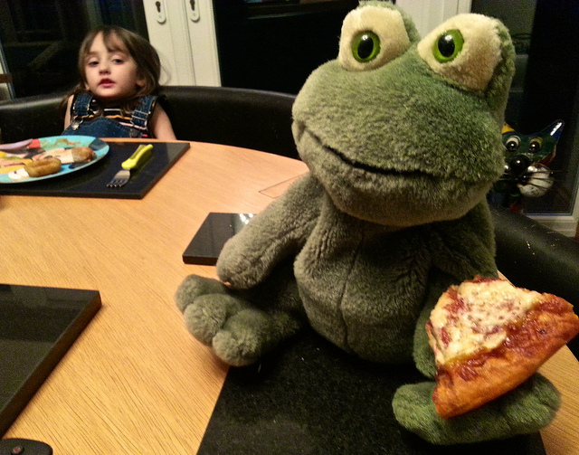 Our weekend with Freddie the Frog