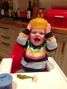 A memo to all toddlers re. your diet