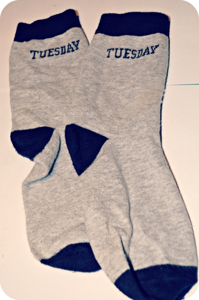 Never ever buy your children days of the week socks! - Stressy Mummy