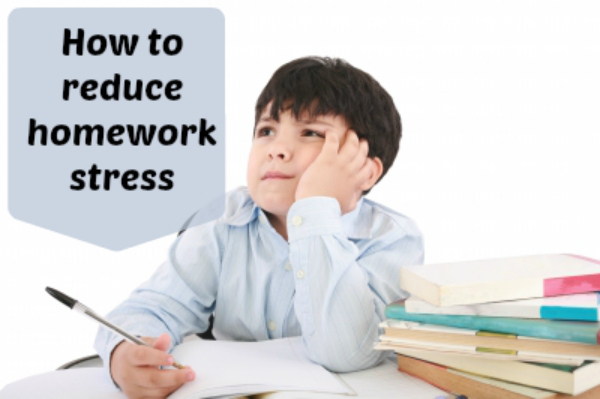 Reducing your homework stress